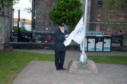 Huntingtons Flag Raising At City Hall May 29, 2018