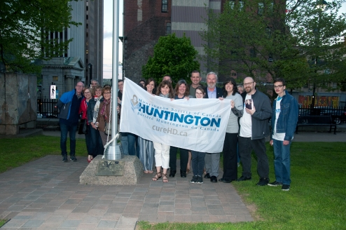 Huntingtons Flag Raising At City Hall May 29, 2018